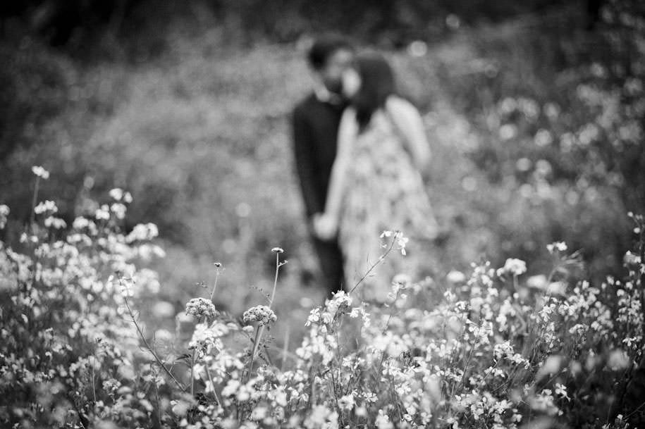 San Francisco Lands End Engagement Photography Wildflowers (18)