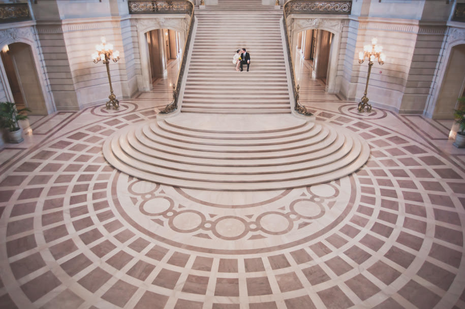 San Francisco City Hall Wedding Photography Portraits (14)