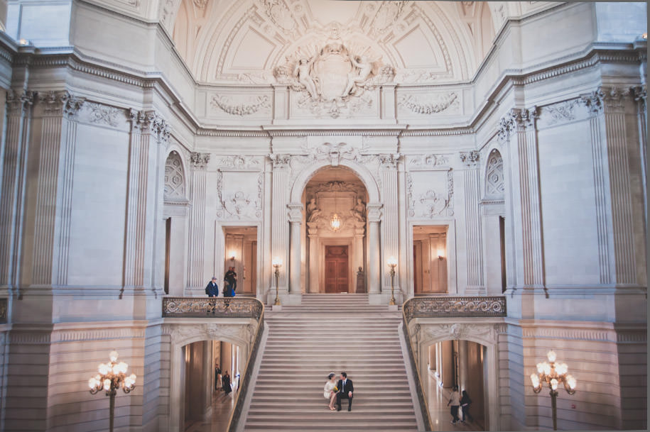 San Francisco City Hall Wedding Photography Portraits (13)