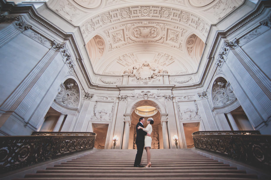 San Francisco City Hall Wedding Photography Portraits (11)