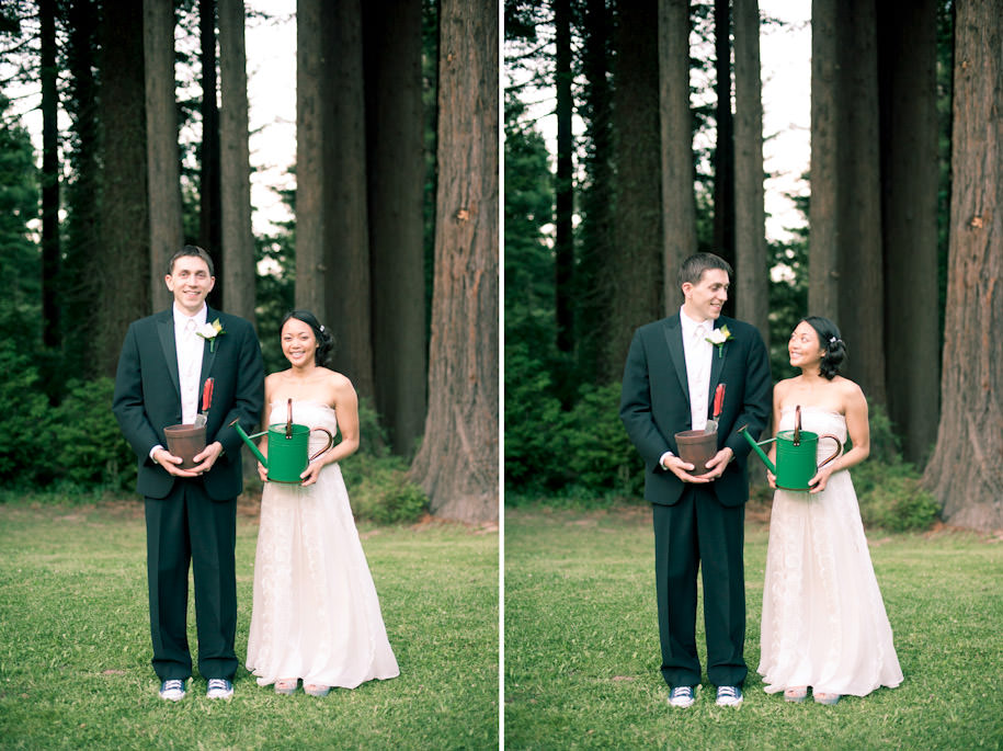 Mountain Terrace Redwood City Outdoor Wedding (6)