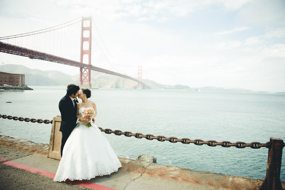 Best San Francisco City Hall Presidio Wedding Photography (36)