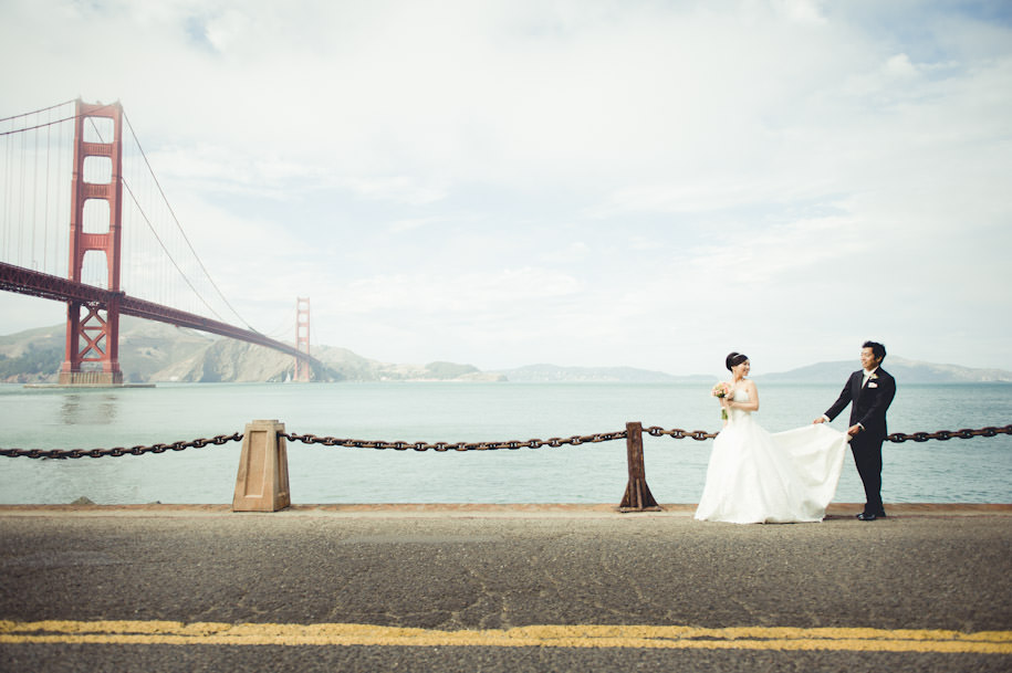Best San Francisco City Hall Presidio Wedding Photography (35)