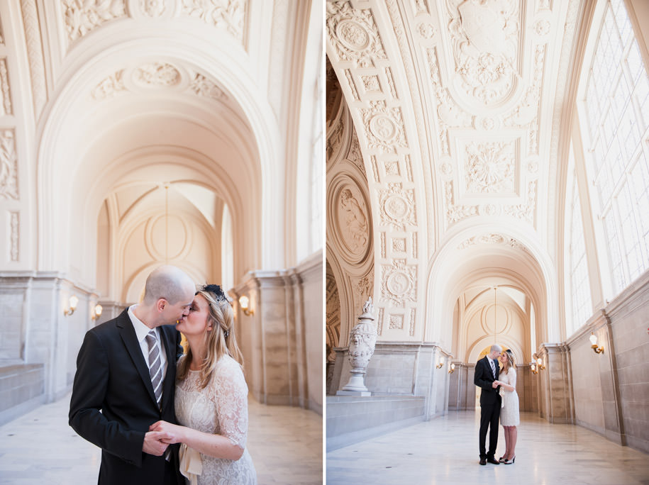 Katja and Martin San Francisco City Hall Wedding Photography (5)