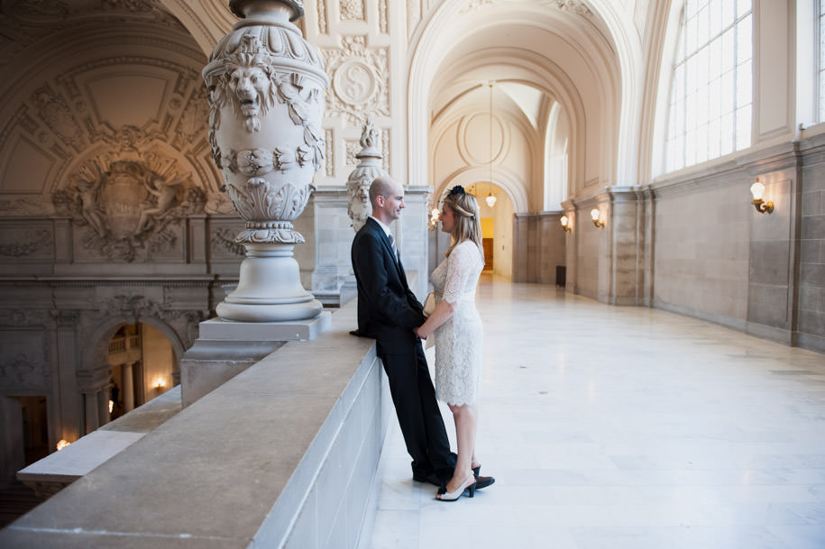 Katja and Martin San Francisco City Hall Wedding Photography (2)