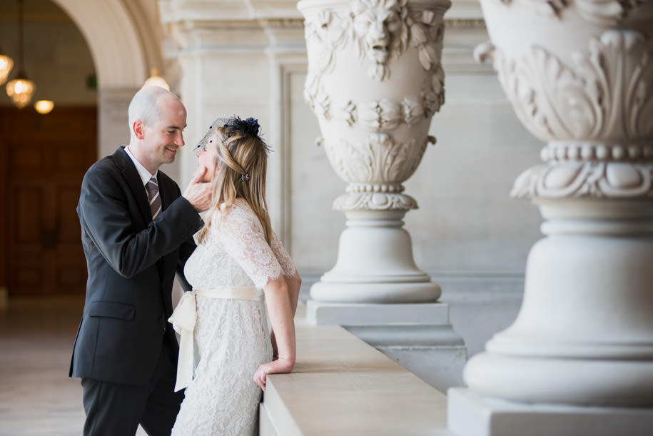 Katja and Martin San Francisco City Hall Wedding Photography (17)