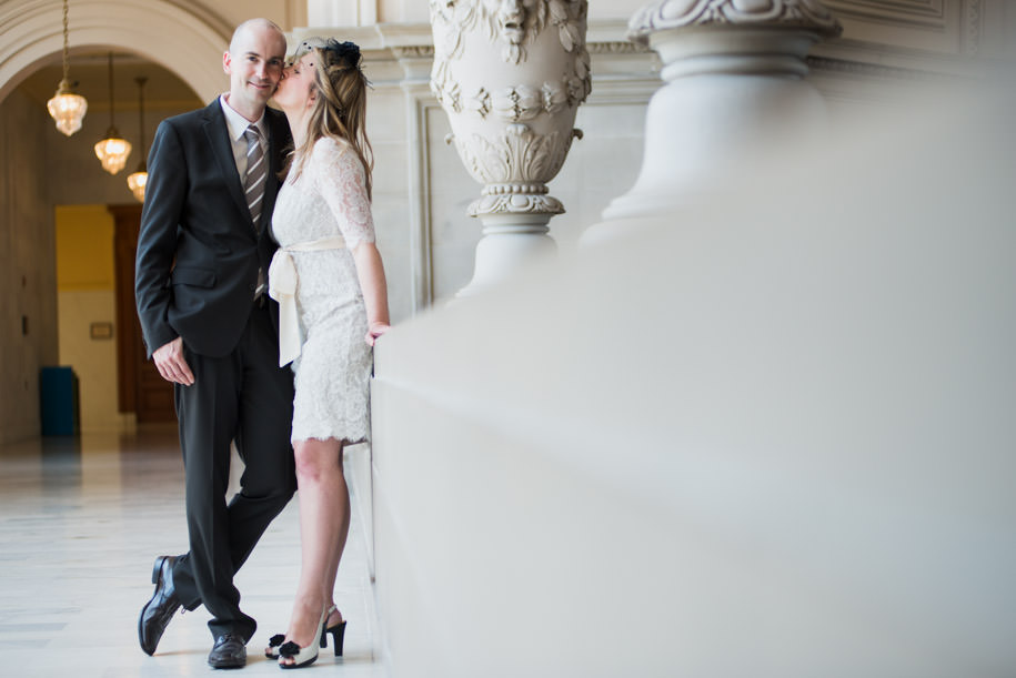 Katja and Martin San Francisco City Hall Wedding Photography (11)