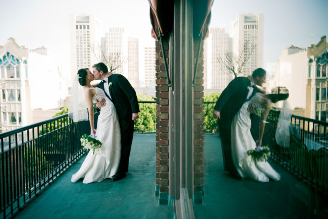 Aine and James: University Club San Francisco Wedding