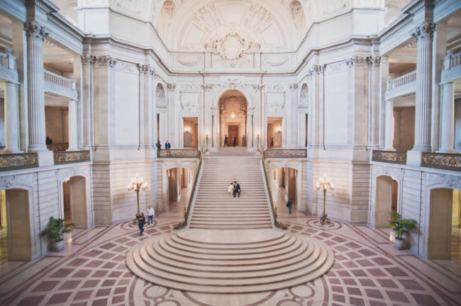 Clare and Jason: SF City Hall Wedding