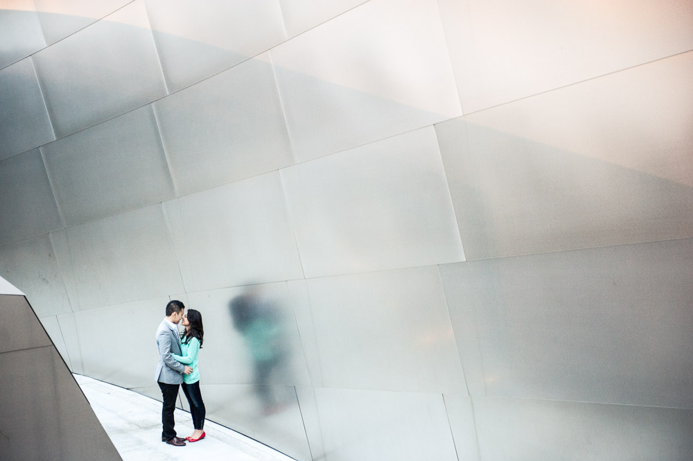 Walt Disney Concert Hall Engagement Portrait