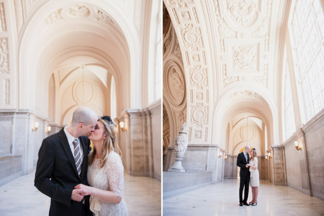 Katja and Martin: San Francisco City Hall Wedding