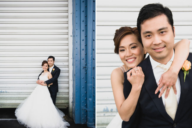 Johnny and Sanny: Chelsea Piers Lighthouse Wedding
