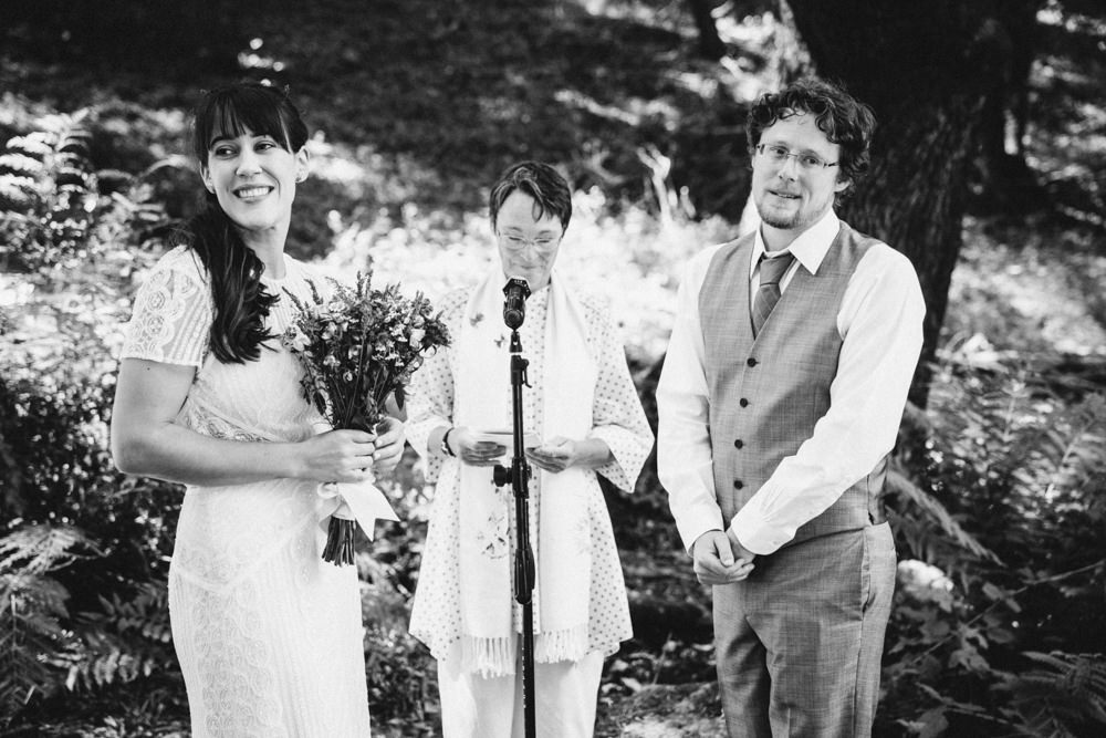 Black and white Napa vintners summer wedding