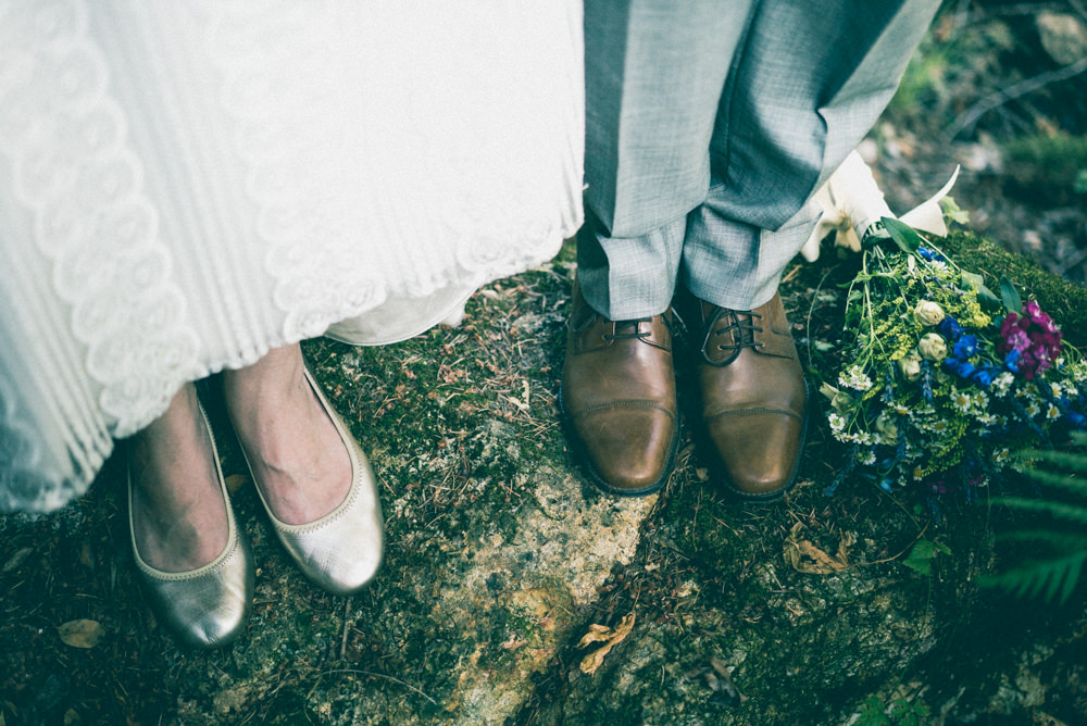 Fall inspired wedding flats