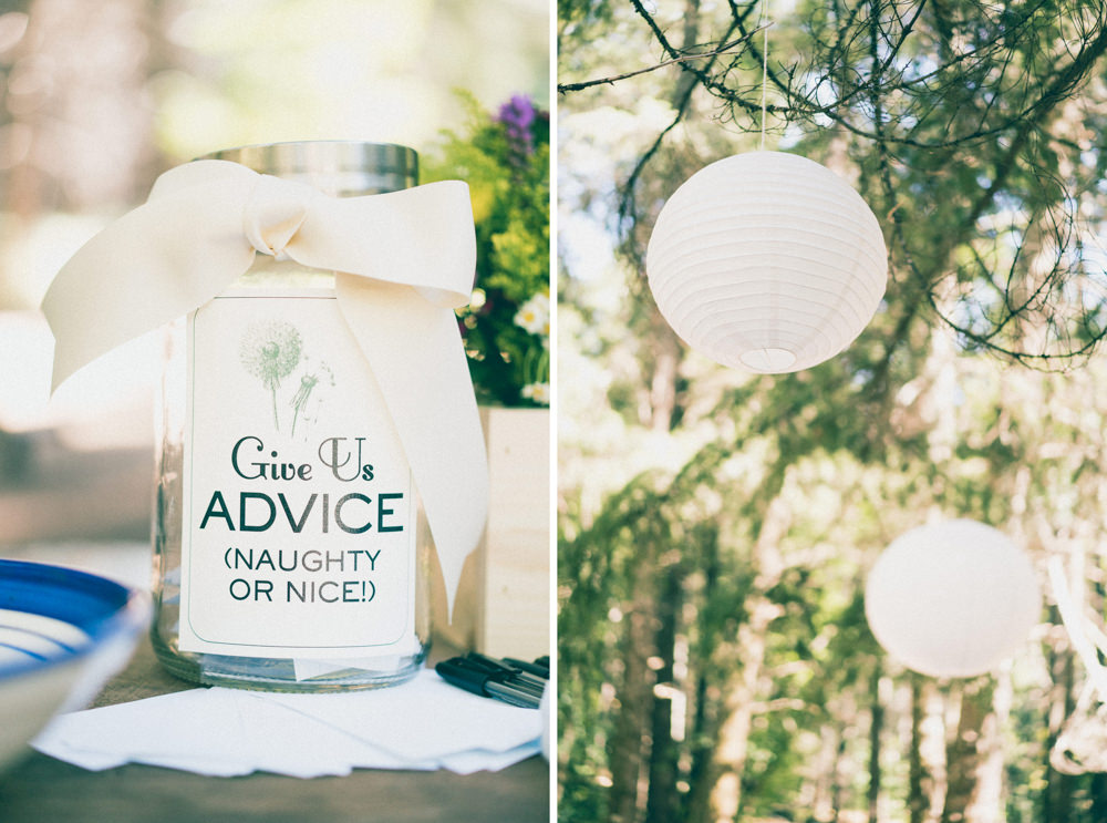 Wedding summer inspired lanterns