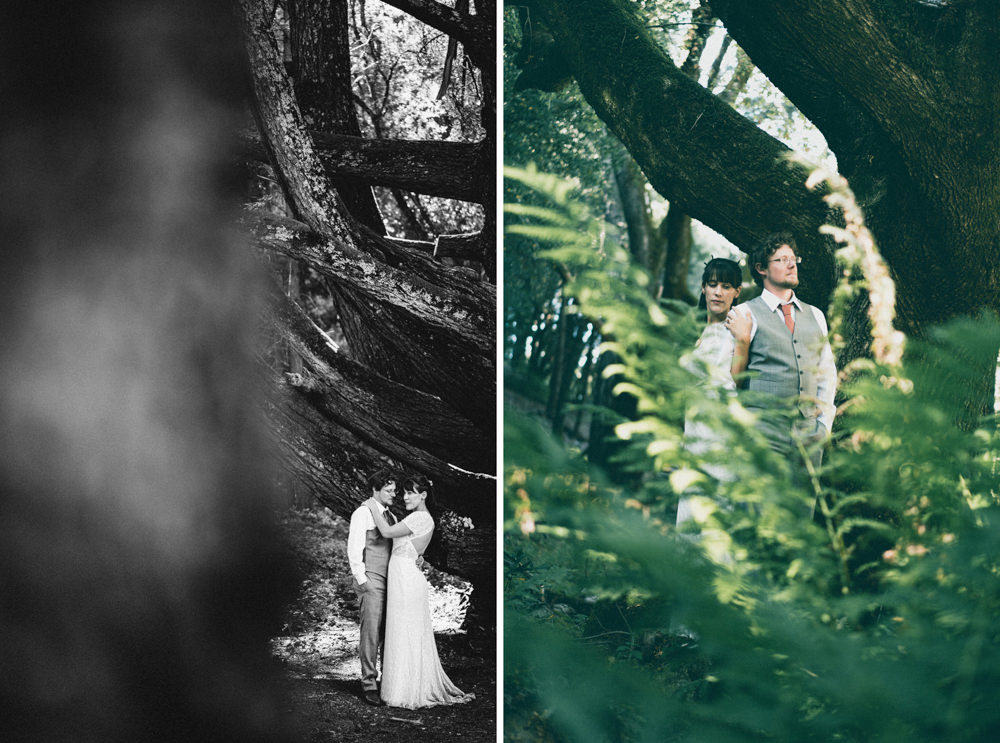 Napa outdoors winemakers forest themed wedding photography
