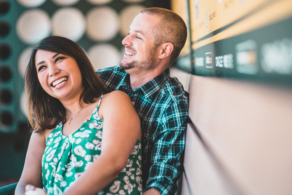 Creative candid engagement photographers in San Francisco