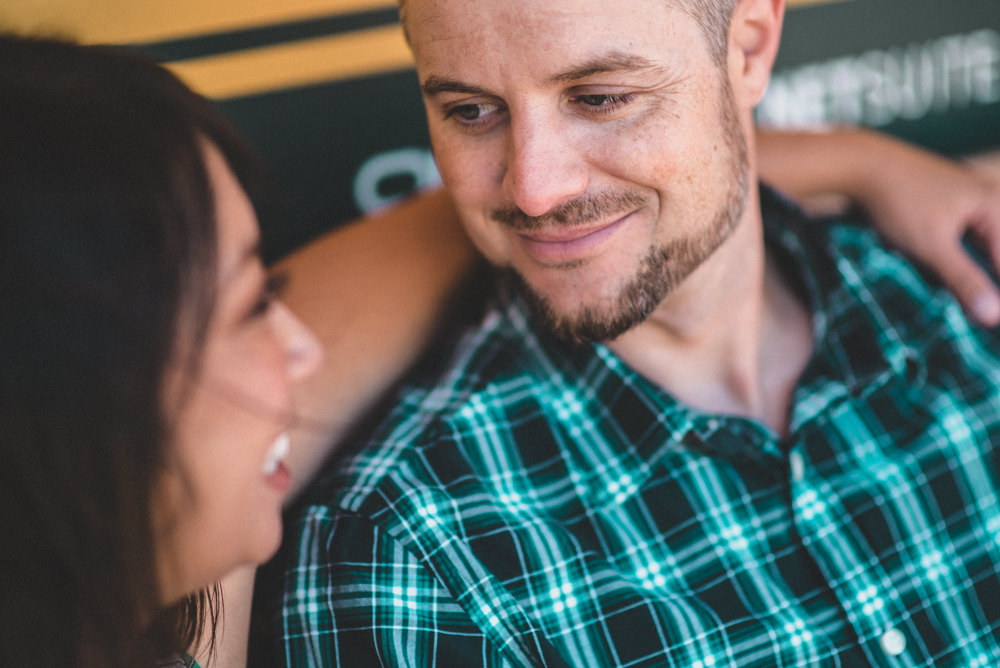 Creative engagement photographers in San Francisco