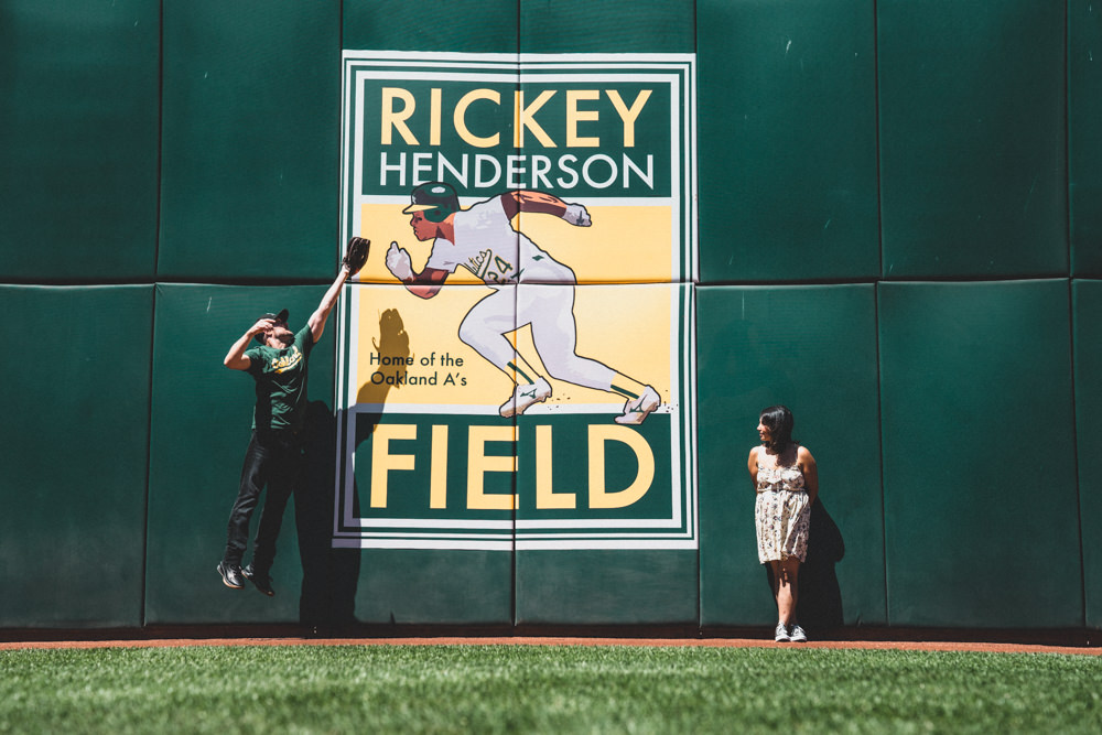 Ricky Henderson Field engagement shoot