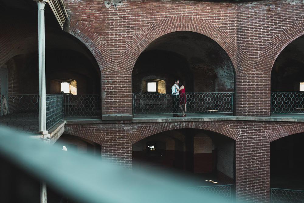SF Fort Point Engagement Shoot