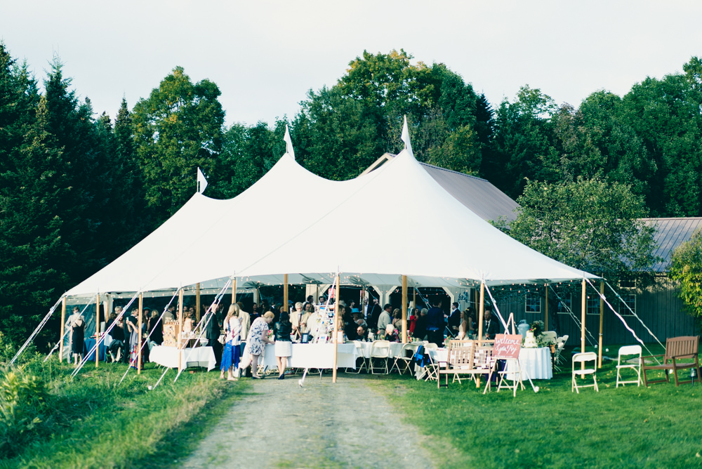 Vermont maple syrup farm wedding venue for rent