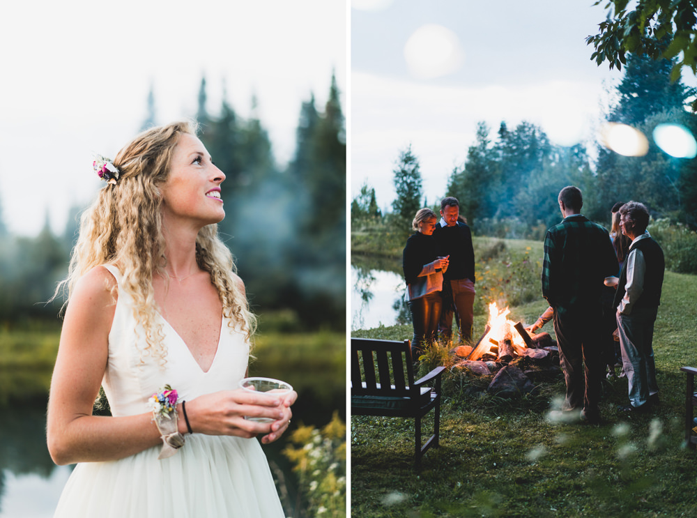 Wedding bonfire inspiration