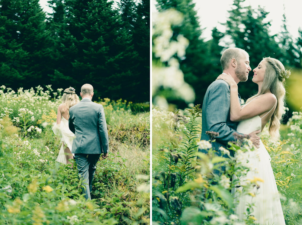 Vermont fall theme inspired outdoor wildflower fields wedding shoot