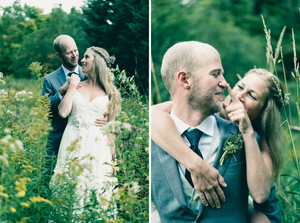 Bride and groom natured farm themed wedding inspiration